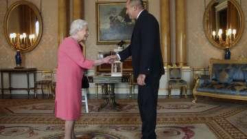 Президентът Румен Радев на аудиенция при кралица Елизабет II