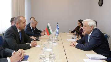 Българският и гръцкият президент с обща позиция след двустранна среща в Рига