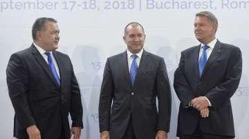 Инициативата Три морета събра 12 президенти в Букурещ