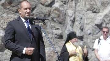 Румен Радев: Шипка е нашата национална епопея