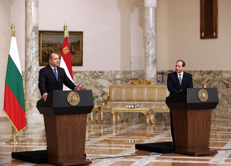 България и Египет имат желание да обединят усилията си в
