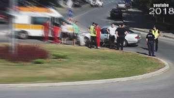 МВР извършва проверка на пътен инцидент с бащата на президента Радев