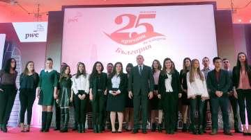 Студенти със стипендии от инициативата Твоите 25 причини да избереш България
