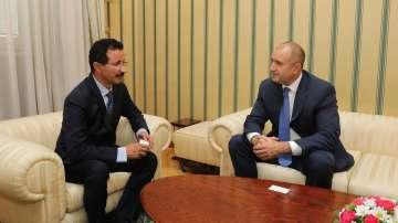 Президентът Радев се срещна със султан Ахмед бин Сулайем