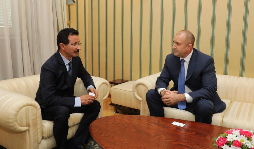 президентът радев срещна султан ахмед бин сулайем