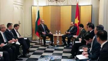 Радев и премиерът на Виетнам обсъдиха двустранното партньорство в Токио