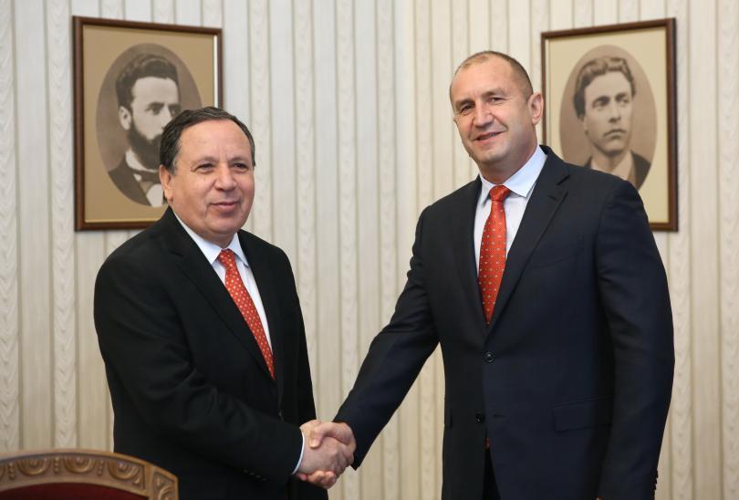 румен радев ценим високо приноса тунис стабилизиране северна африка