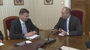 Президентът Румен Радев също подкрепя присъединяването ни към Еврозоната