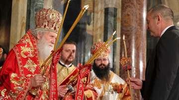 Президентът Румен Радев поздрави православните християни с Възкресение Христово
