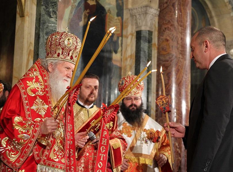 На Възкресение Христово президентът Румен Радев пожела на българите здраве,