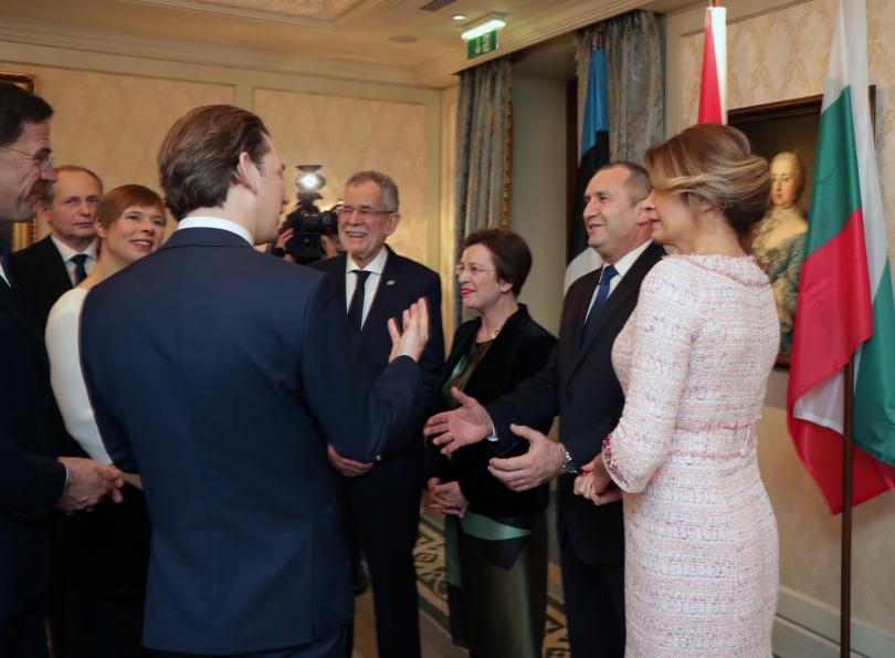 снимка 3 Румен Радев бе почетен гост на Новогодишния концерт на Виенската филхармония
