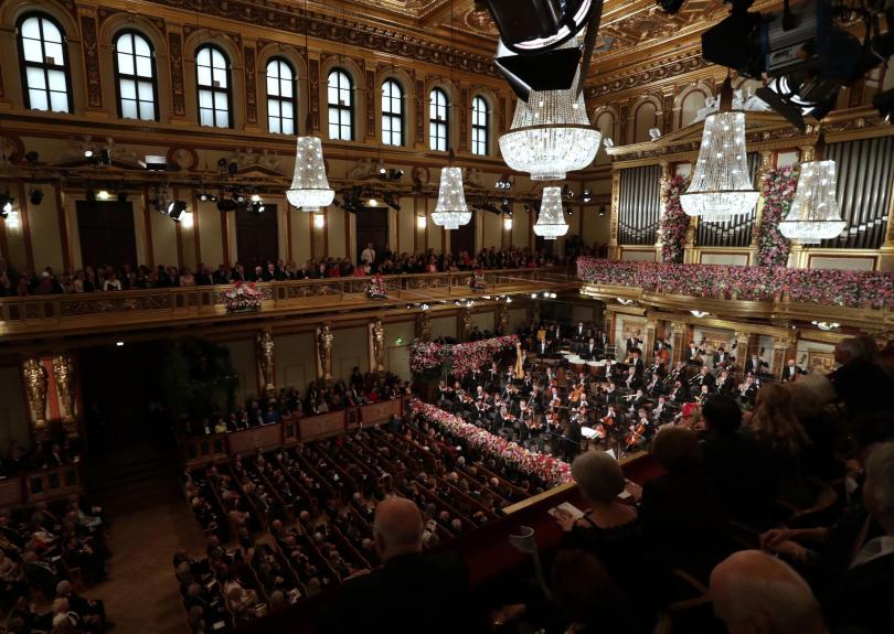 снимка 6 Румен Радев бе почетен гост на Новогодишния концерт на Виенската филхармония