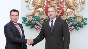 Радев: България и Македония трябва да обърнат нова страница в отношенията си