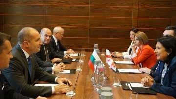 България и Грузия ще работят за увеличаване на свързаността, обмена и туризма