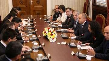 Президентът Радев се срещна с водещи китайски компании