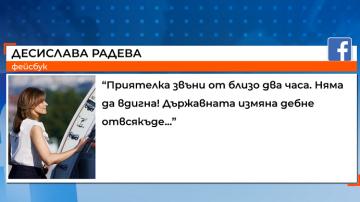 Десислава Радева реагира с коментар и песен на скандала със СРС-та