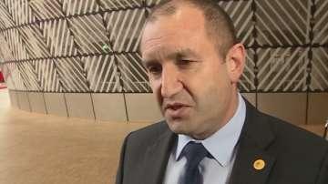 Радев е изразил подкрепа за решаване на проблема с екоизискванията за ТЕЦ-овете