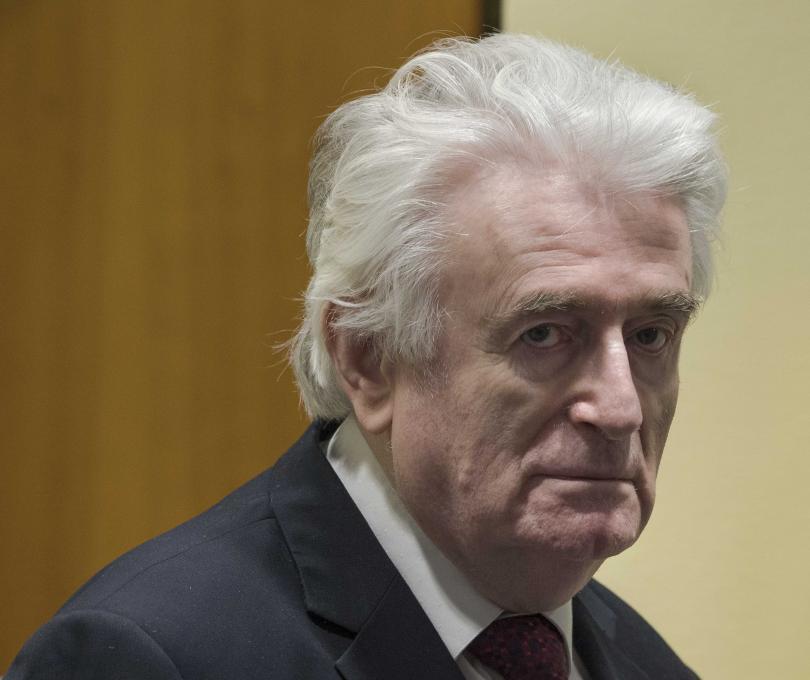 Бившият лидер на босненските сърби Радован Караджич ще прекара остатъка