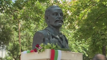 Откриха паметник на Георги Раковски в румънския град Тулча