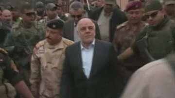 Иракският премиер посети Рамади