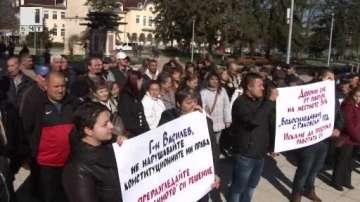 Протест на жители от разградски села заради по-скъпа питейна вода
