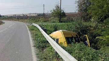 18 души са ранени след катастрофата между микробус и ТИР на пътя Разград-Попово