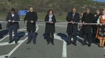 Откриха ремонтирани пътни отсечки между Разлог - Юндола - Банско и Гоце Делчев