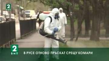 В Русе отново пръскат срещу комари