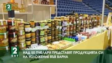Над 50 пчелари представят продукцията си на изложение във Варна