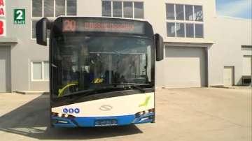 Новите автобуси пристигат във Варна до средата на май