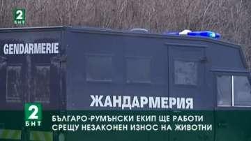 Българо-румънски екип ще работи срещу незаконен износ на животни