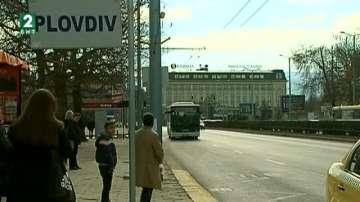 Три линии на градския транспорт в Пловдив с електронно таксуване
