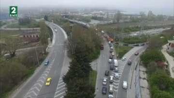 Рeмонтът на Аспаруховия мост се отлага за есента