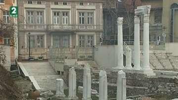 Археолози доразкриват Одеона в Пловдив с 40 хиляди лева