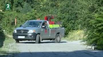 Пръскат срещу комари и кърлежи в Асеновград