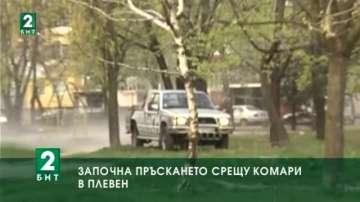 Започва пръскането срещу комари в Плевен