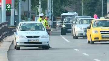 Глоби за абитуриенти и шофьорите, които ги возят, в Пловдив