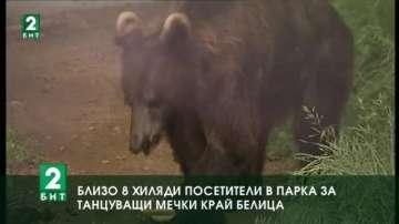 Бум на туристи в парка за танцуващи мечки до Белица