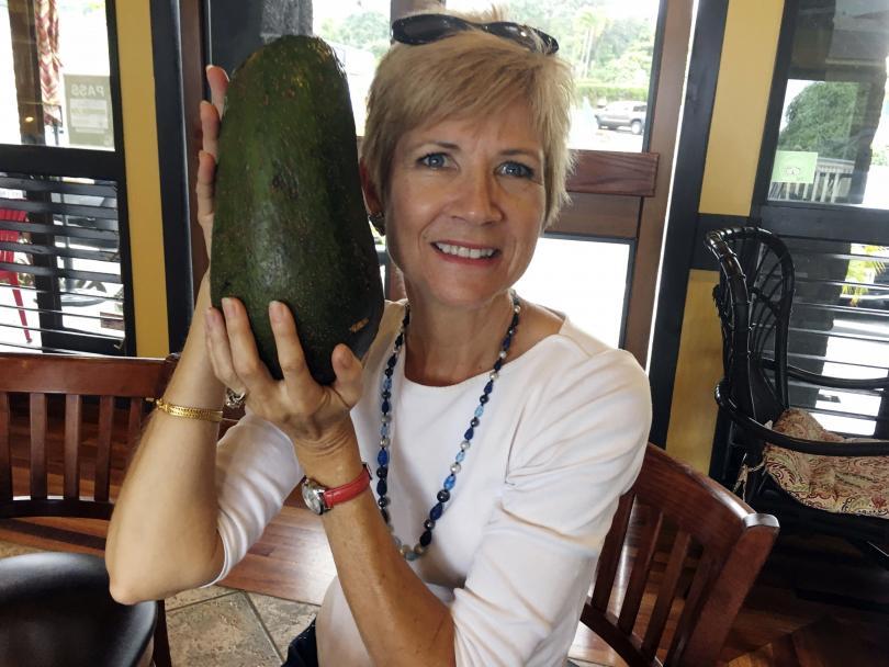 гигантско авокадо постави световен рекорд