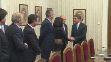Лидерите от Реформаторски блок пристигнаха на консултации при президента
