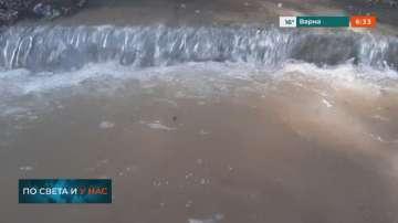 Моравишката река излезе от коритото си