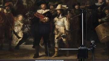 Реставрират картината Нощна стража на Рембранд