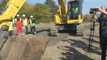 Започна ремонтът на пътя Бургас - Слънчев бряг