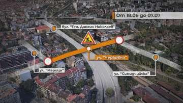 Започва ремонтът на моста на улица Черковна в София