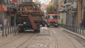 Столичната община наложи 100 000 лв. глоба за ремонта на ул. Граф Игнатиев