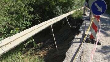 Започва укрепване на свлачището по пътя между Велико Търново и Арбанаси