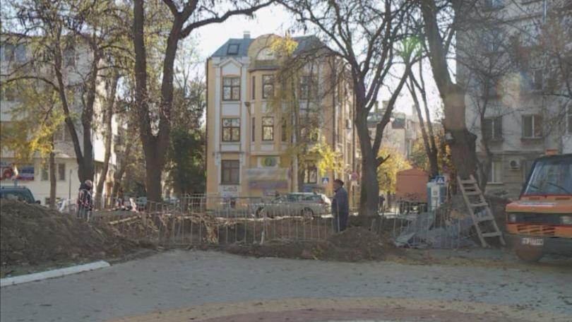 Ремонтът на Шишковата градинка във Варна, който по проект трябваше