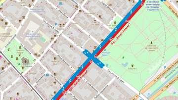 Ремонти блокират движението в центъра на София от 1 юли