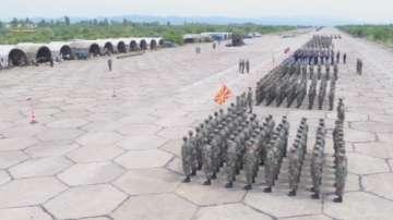 Рота от македонската армия за първи път ще участва в парада за Гергьовден