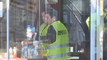 Ресторантьори протестираха с жълти жилетки срещу сивия сектор